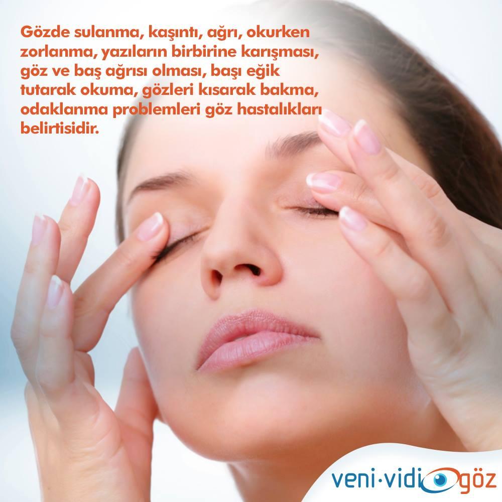 göz hastalıklarının belirtileri
